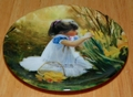 Collector Miniature Plate Donald Zolan Flowers for Mother