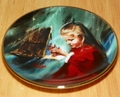 Collector Miniature Plate Donald Zolan Laurie and the Creche