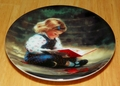 Collector Miniature Plate Donald Zolan Quiet Time