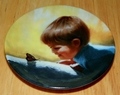 Collector Miniature Plate Donald Zolan Sunny Surprise