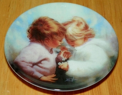 Collector Miniature Plate Donald Zolan Tiny Treasures Third Issue