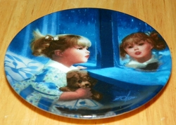 Collector Miniature Plate Donald Zolan Windows of Dreams #8398A