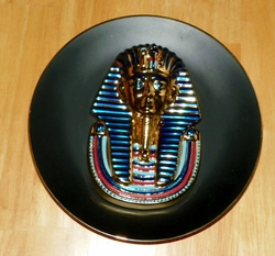 Collector Plate 3D Egypt: Splendours of an Ancient World The Golden Mask of Tutankhamun