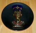 Collector Plate 3D Egypt: Splendours of an Ancient World Nefertiti The Eternal Beauty