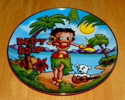 Collector Plate Betty Boop America's Sweetheart Tropical Time Danbury Mint