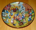 Collector Plate A Purrfect Feast Franklin Mint Heirloom Bill Bell