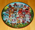 Collector Plate Easter Purrade Franklin Mint Heirloom Bill Bell NO COA