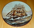 Collector Plate Davy Crockett at Daybreak The Golden Age of Clipper Ships 1990