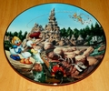 Collector Plate from Disneyland's 40th Anniversary Series.   Issue 10 of 12 titled: Big Thunder Mountain Railroad