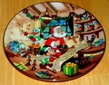 Collector Plate from Mickey's Holiday Magic Series. Issue 2 of 4 titled: Naughty Or Nice?