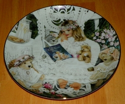 Collector Plate Knowles Bridget 5th Issue Heirlooms and Lace series.