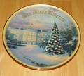 Collector Plate Lights of Liberty Thomas Kinkade God Bless America Coll COA