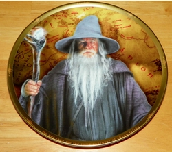 Collector Plate Lord of the Rings Gandalf Org Box & COA England SOLD