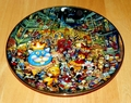 Collector Plate Meowdi Gras Franklin Mint Heirloom Bill Bell