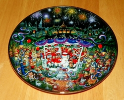 Collector Plate Purr-cussion Section Franklin Mint Heirloom Bill Bell