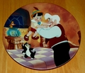 Collector Plate Real Boy the 6th plate in the Pinocchio Series of Six Plates from Edwin M. Knowles