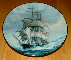 Collector Plate Sea Witch Mistress of the Ocean Golden Age of Clipper Ships 1990 SOLD