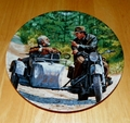 Collector Plate The Adventures of Indiana Jones and the Last Crusade Series. Titled A Family Discussion