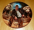 Collector Plate The Adventures of Indiana Jones and the Last Crusade Series Titled Indiana Jones