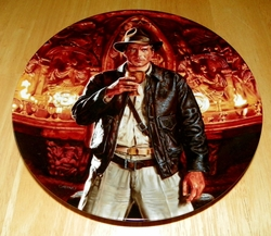 Collector Plate The Adventures of Indiana Jones and the Last Crusade Series Titled Indiana Jones & The Holy Grail Out of Stock