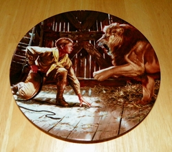 Collector Plate The Adventures of Indiana Jones and the Last Crusade Series Titled Young Indiana Jones