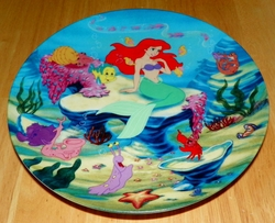 Disney Collector Plate The Little Mermaid Collection Series. Plate 1 of 8 titled: A Song From the Sea