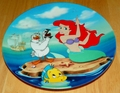 Disney Collector Plate The Little Mermaid Collection Series. Plate 2 of 8 titled: Visit to the Surface