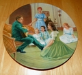 Collector Plate The Sound of Music Collection Fifth Issue of Eight Titled Edelweiss