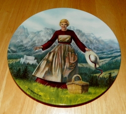 Collector Plate The Sound of Music Collection First Issue of Eight Titled The Sound of Music