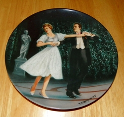 Collector Plate The Sound of Music Collection Fourth Issue of Eight Titled Laendler
