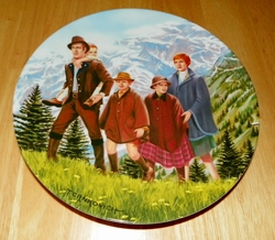 Collector Plate The Sound of Music Collection Last Issue of Eight Titled Climb Every Mountain