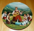 Collector Plate The Sound of Music Collection Second Issue of Eight Titled Do-Re-Mi