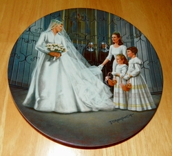 Collector Plate The Sound of Music Collection Seventh Issue of Eight Titled Maria
