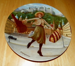 Collector Plate The Sound of Music Collection Sixth Issue of Eight Titled I Have Confidence
