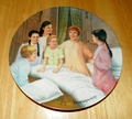 Collector Plate The Sound of Music Collection Third Issue of Eight Titled My Favorite Things