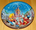 Collector Plate Walt Disney World 25th Anniv Birthday Celebration # 8 OF 12