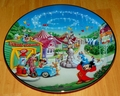 Collector Plate Walt Disney World 25th Anniv Mickey's Toon Town # 7 OF 12