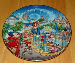Collector Plate Walt Disney World 25th Anniv Remember Magic Parade #9 OF 12 Out of Stock