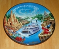 Collector Plate Walt Disney World 25th Anniversary Frontierland # 5 OF 12