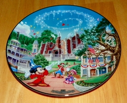 Collector Plate Walt Disney World 25th Anniversary Liberty Square # 6 OF 12 Out of Stock