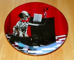 Collector Plate Concerto in D-Minor Comical Dalmatians Collection Hamilton 1996