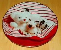 Collector Plate The Best Spot Comical Dalmatians Coll Hamilton 1995