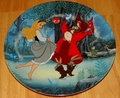 Disney Collector Plate 1993 4th Issue Sleeping Beauty Treasured Moments