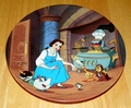 Disney Collector Plate Beauty and the Beast ENCHANTE`, CHERIE