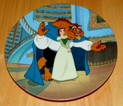 Disney Collector Plate Beauty and the Beast A Gift For Belle