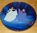 Disney Collector Plate Cinderella 45th Anniversary Disney Store �Org Box