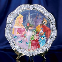 Disney Collector Plate Jewels of Disney Series - 3rd Issue Sleeping Beauty HOLD