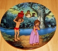 Disney Collector Plate Jungle Book Disney Treasured Moments Plate