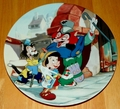 Disney Collector Plate Pinocchio Titled It's an Actor's Life for Me
