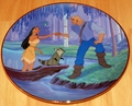 Disney Collector Plate Pocahontas The Moment They Touch